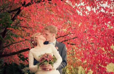 Herbsthochzeit: Jared und Ariane