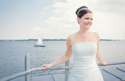 Maritime Hochzeit im Leuchtturm Kiel-Holtenau