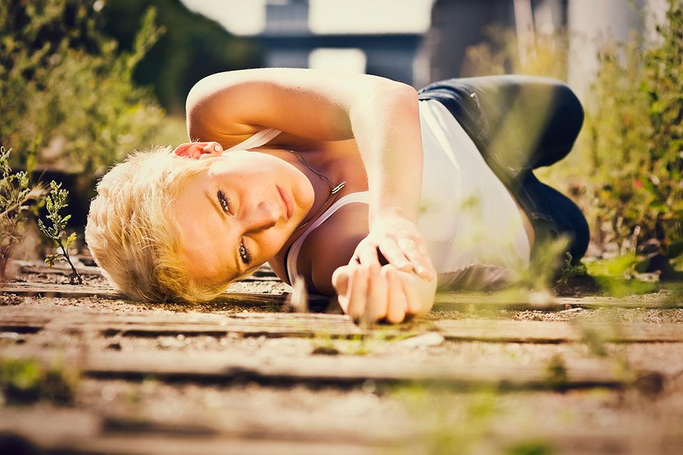Jana  - Mädchen aufm Dach | Fenja Hardel