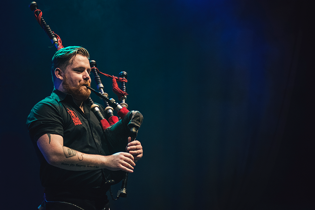 Red Hot Chilli Pipers | Cameron Barnes | Mädchen aufm Dach | Fenja Hardel