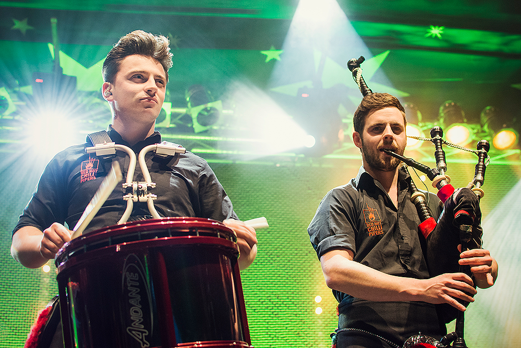 Red Hot Chilli Pipers | Grant Cassidy | Dougie McCance | Mädchen aufm Dach | Fenja Hardel