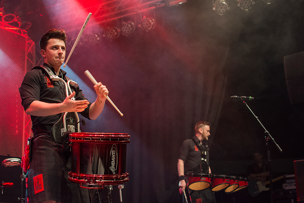 Red Hot Chilli Pipers | Grant Cassidy | Mädchen aufm Dach | Fenja Hardel