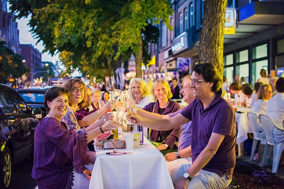 Purple Night 2015 Kiel | Mädchen aufm Dach | Fenja Hardel
