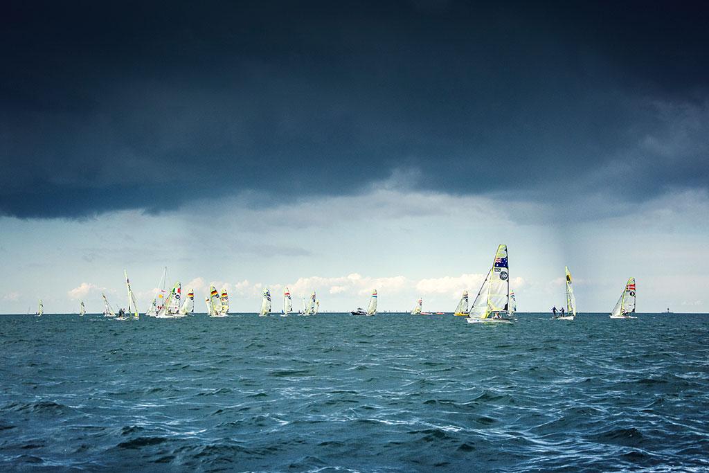 Kieler Woche | Segeln  | Mädchen aufm Dach | Fenja Hardel