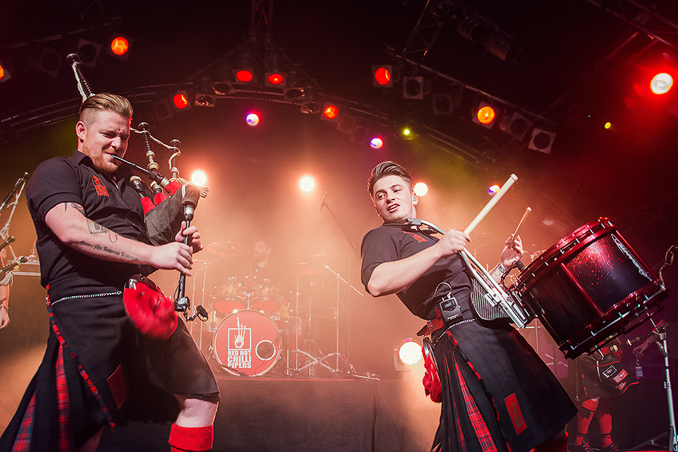Red Hot Chilli Pipers | Cameron Barnes | Grant Cassidy | Fenja Hardel