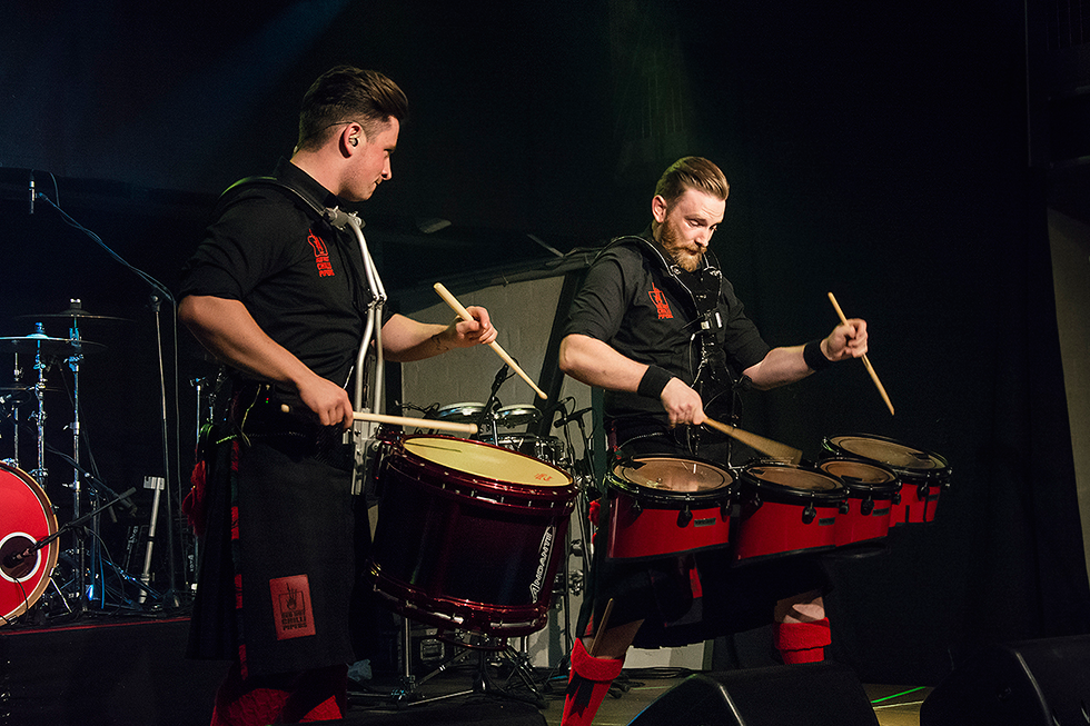 Red Hot Chilli Pipers | Grant Cassidy | Steven James Black | Fenja Hardel