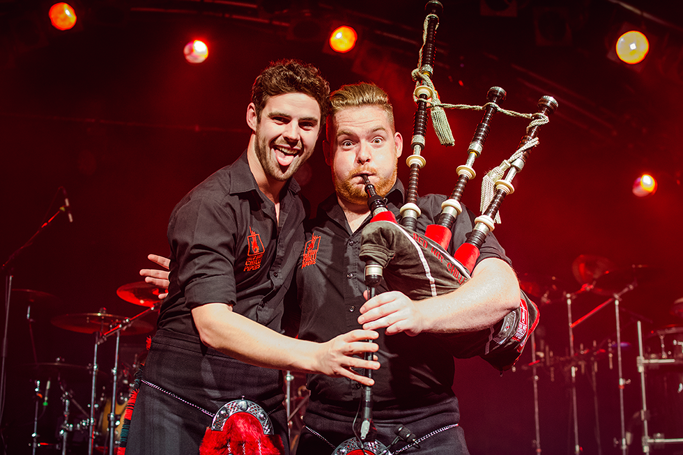 Red Hot Chilli Pipers | Cameron Barnes | Dougie McCance | Fenja Hardel