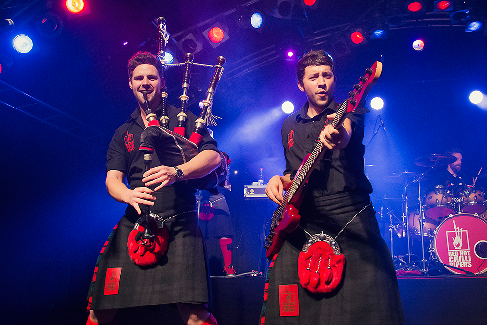 Red Hot Chilli Pipers | Dougie McCance | Alan McGeoch | Fenja Hardel