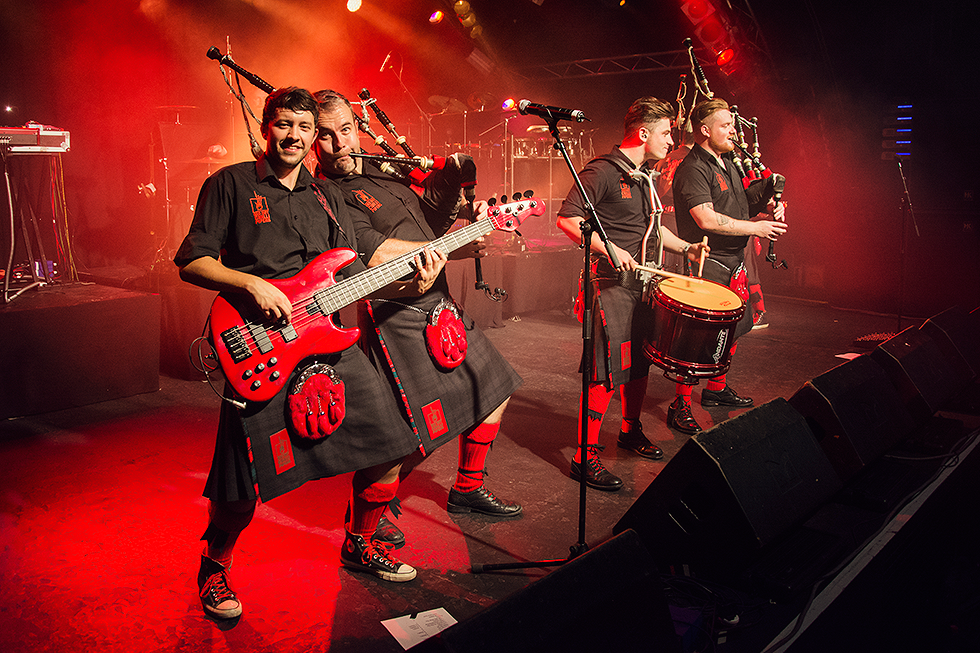 Red Hot Chilli Pipers | Kevin MacDonald | Alan McGeoch | Fenja Hardel