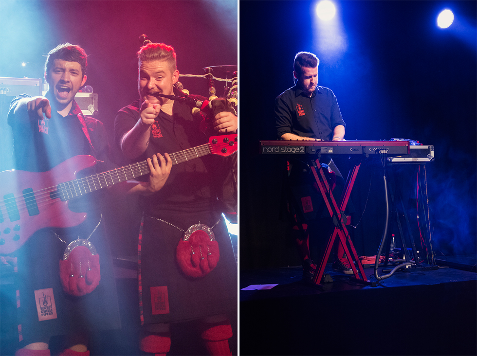 Red Hot Chilli Pipers | Alan McGeoch | Cameron Barnes | Gary O'Hagen | Fenja Hardel