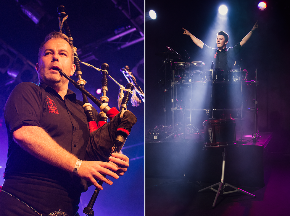 Red Hot Chilli Pipers | Kevin MacDonald | Grant Cassidy | Fenja Hardel