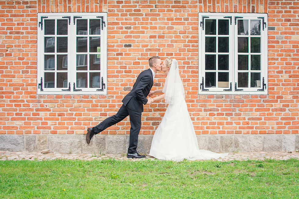 Hochzeit mit Rikscha in Molfsee | Fenja Hardel | AufmDach